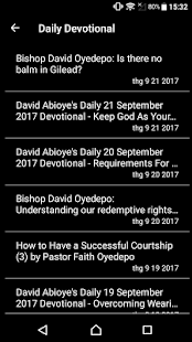 David Oyedepo Daily Devotional - náhled