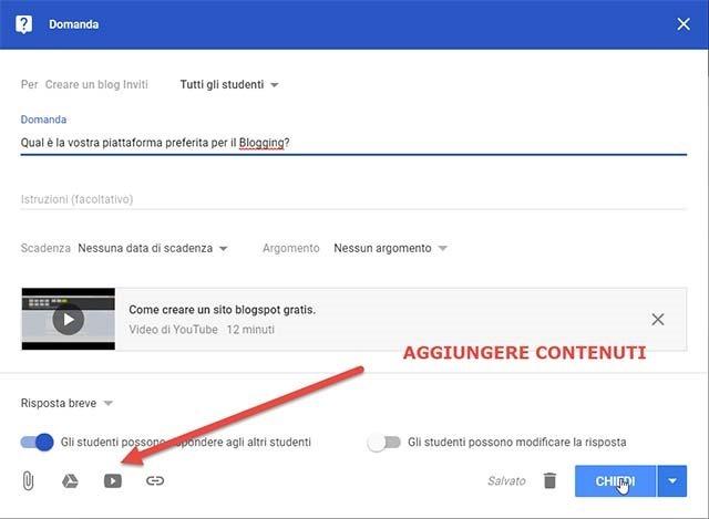 domanda-google-classroom