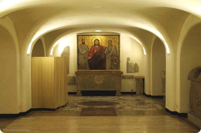 grotte-vaticane-Tomb of Otto