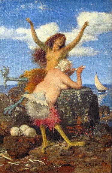 Arnold Böcklin - Sirens