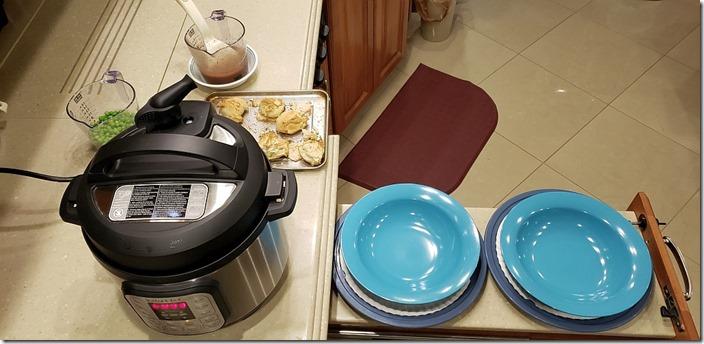 Instant Pot Dinner