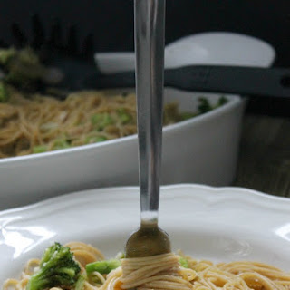 Chicken and Broccoli Pasta.