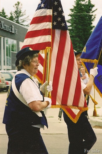 Madeline Yliniemi Flag Bearer