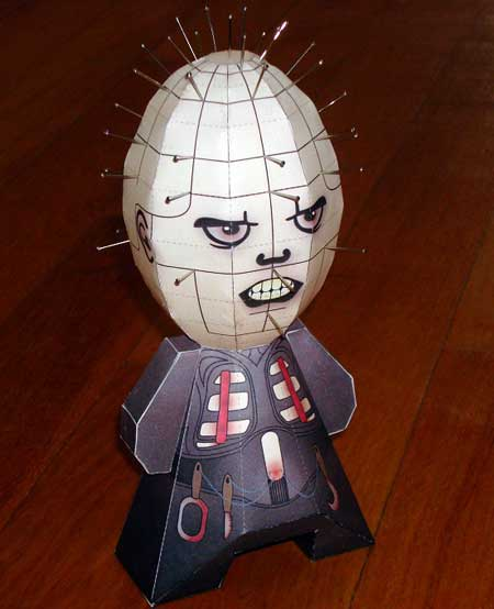 Pinhead Paper Toy