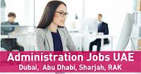Administration Jobs in Dubai, UAE | Admin Jobs Abu Dhabi, Sharjah 2021
