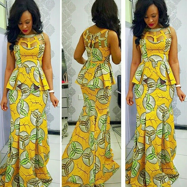 Latest Ankara Skirt And Blouse Styles In Nigeria 2016 Fashionte