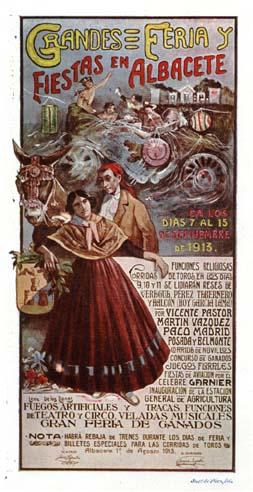 Cartel Feria Albacete 1913
