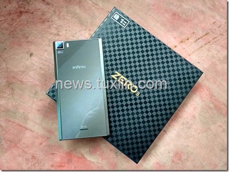Hands on Infinix Zero 3 X552