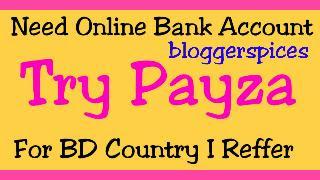 Need Online Bank Account