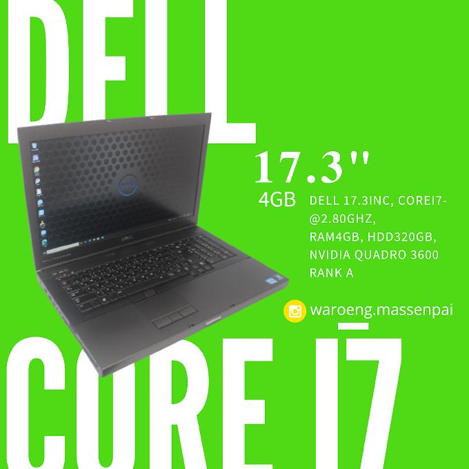 Laptop DELL 17.3 inchi
