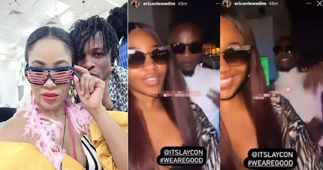 BBNaija Stars, Laycon And Erica Breaks the Internet as they Finally Reconcile After Fall Out [VIDEO]