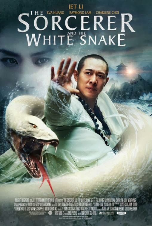 Poster Of The Sorcerer and the White Snake (2011) Full Movie Hindi Dubbed Free Download Watch Online At Alldownloads4u.Com