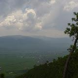 Shaxi depuis le Shibao Shan (Yunnan), 8 août 2010. Photo : J.-M. Gayman