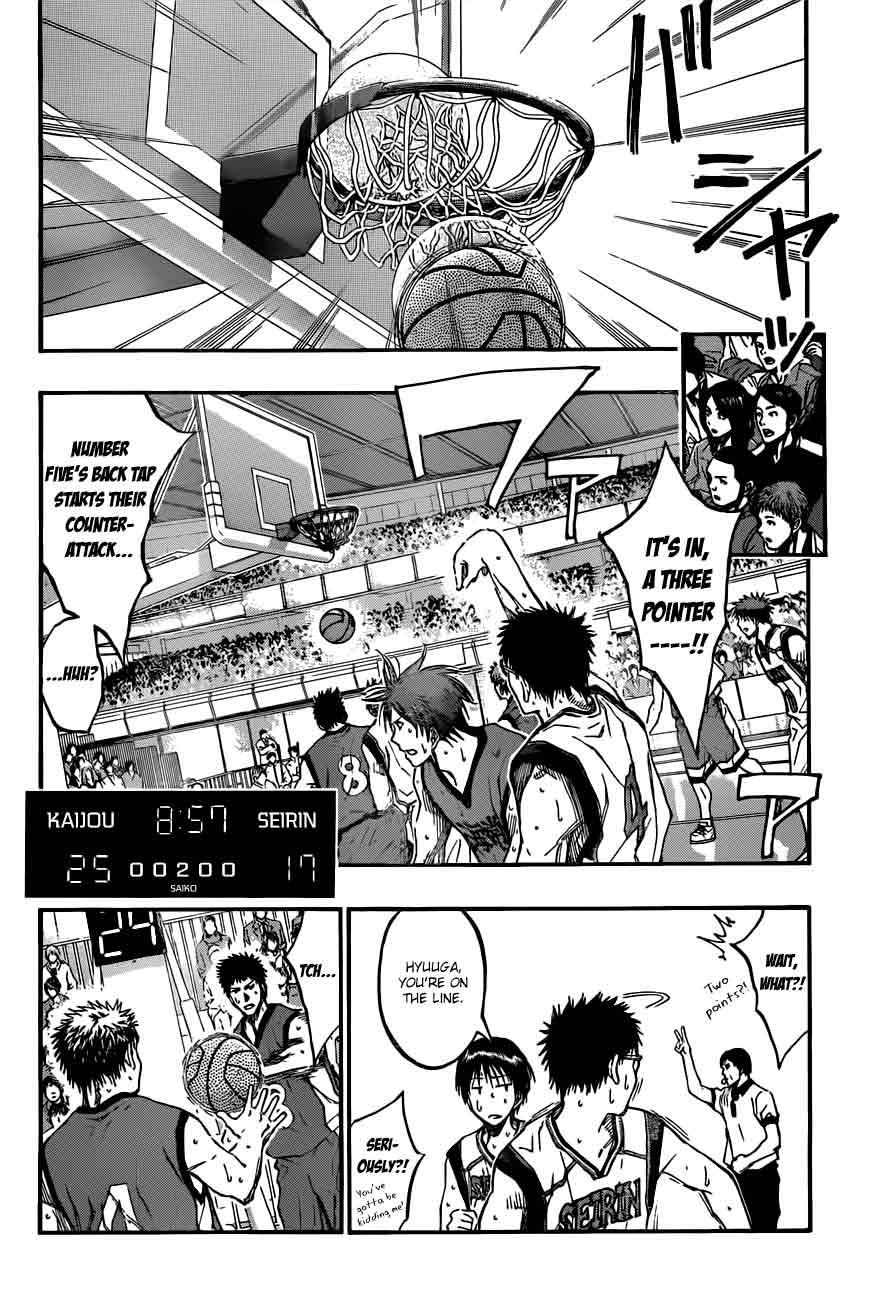 Kuroko no Basket Manga Chapter 189 - Image 04