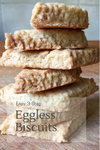 Easy Eggless Biscuits (or Baked Shankarpale)