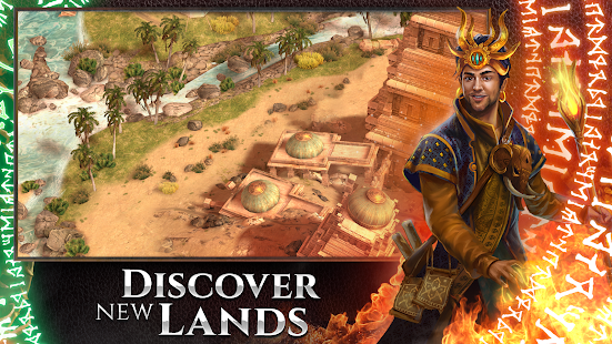 Mod Game Rival Kingdoms: The Lost City for Android