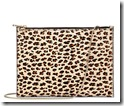 Aspinal of London leopard chain clutch