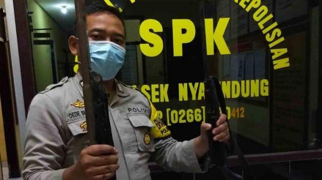 Senapan Meletus Sendiri, Pemburu Babi Hutan di Sukabumi Terkapar