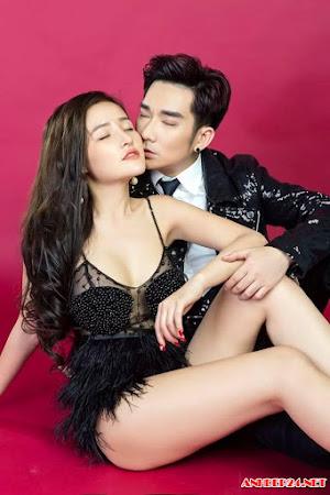 Hot girl Ngân 98 cực táo bạo bên ca sỹ Quang Hà