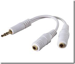 Belkin headphone and speaker splitter
