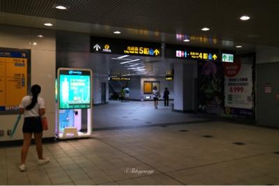台北駅 地下通路