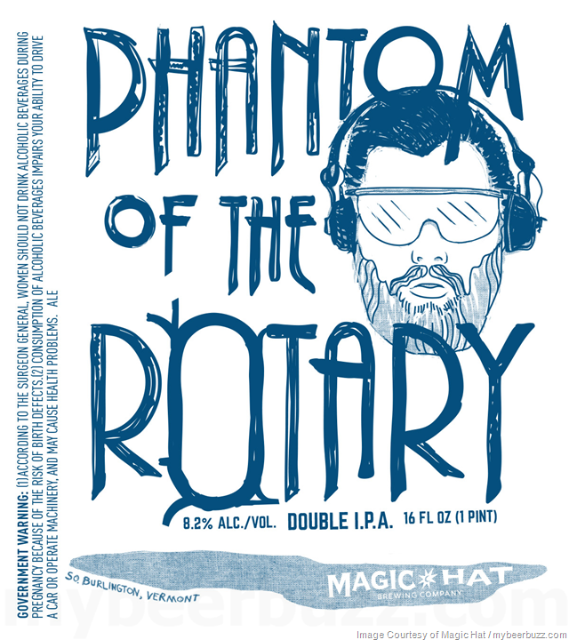 Magic Hat Adding Phantom Of The Rotary 16oz Cans