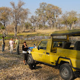 Stopping for tea during a game drive