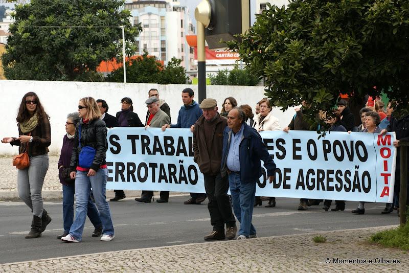 Manifestação em Setúbal