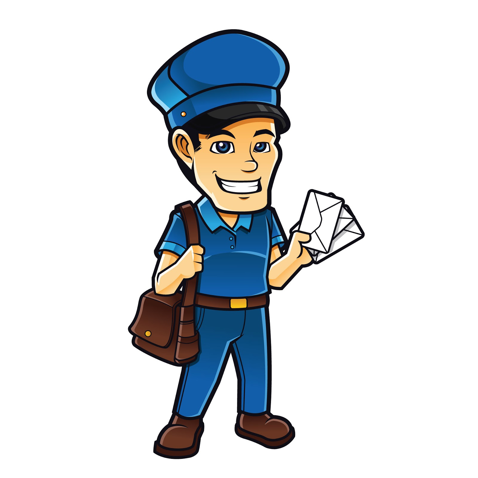 Mailman Free Download Vector CDR, AI, EPS and PNG Formats