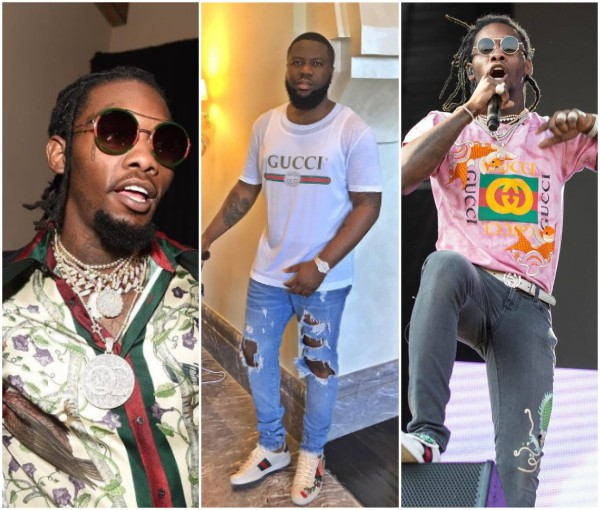 Step aside Hushpuppi! Migos Offset Got 30% Discount For Life From Gucci For Too Much Patronage (Photos)
