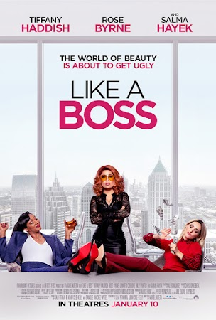 Poster Of Like a Boss In Hindi Dubbed 300MB Compressed Small Size Pc Movie Free Download Only At worldfree4u.com