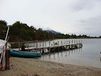 Muelle en Bahia Torito Cruce de Tierra del Fuego Trekking Desde Estancia Carmen al Lago Fagnano, y desde la Sierra Valdivieso al Canal Beagle! 7 dias de Trekking intenso.