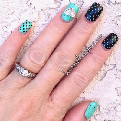 Lace and lacquers fingrs fingrs prints girlie glam in on the dot fingrs fingrs prints girlie glam in on the dot prinsesfo Image collections