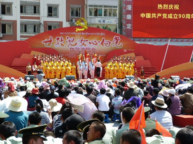CHINE SICHUAN.KANDING , MO XI, et retour à KANDING fête du PCC - 1sichuan%2B1869.JPG