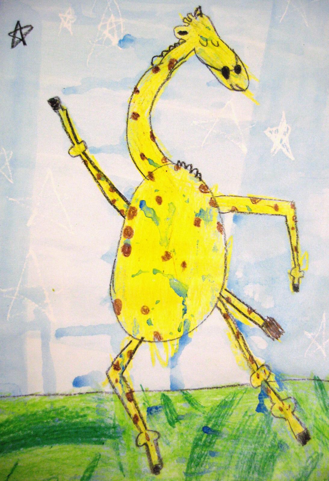 Art Dish Giraffe S Can T Dance