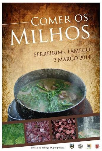 Comer os Milhos - 2 de Março - Ferreirim - Lamego