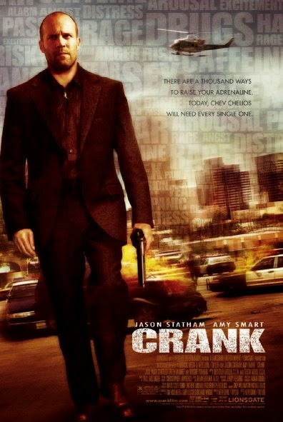 Poster Of Crank (2006) Full Movie Hindi Dubbed Free Download Watch Online At Alldownloads4u.Com