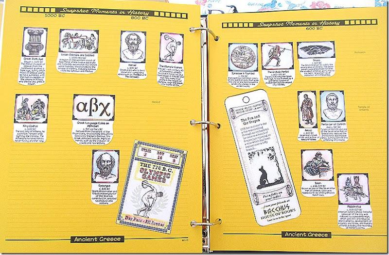 Project Passport Ancient Greece Timeline