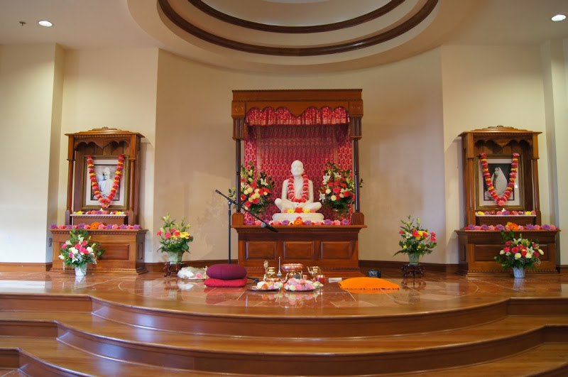 Beautifully decorated altar on January 1