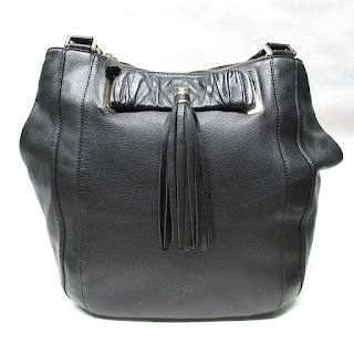 Anya Hindmarch Black Hobo Bag