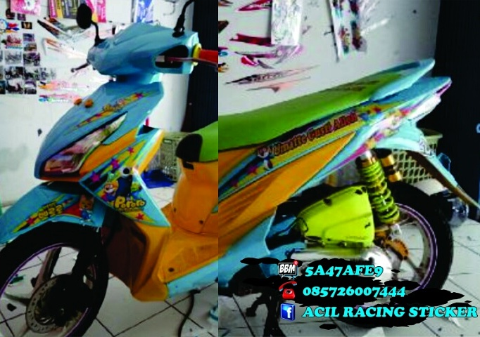 Custoom striping bebas desain vario fi 110