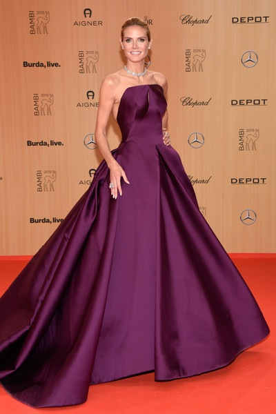 Heidi Klum BABOR Bambi Awards 2015 Red Carpet
