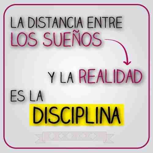 Importancia de la autodisciplina