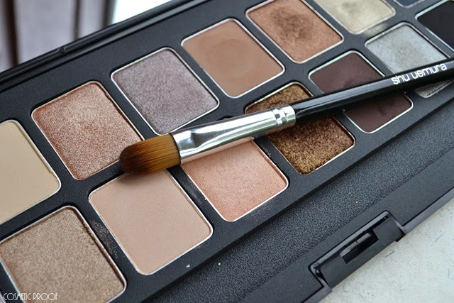shu uemura 16 shades of nude eyeshadow palette swatches review (17)
