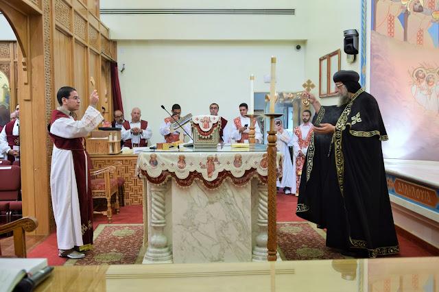 His Holiness Pope Tawadros II visit to St. Mark LA - DSC_0215.JPG