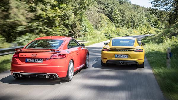 Porsche vs Audi