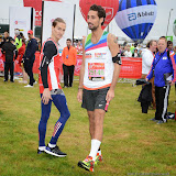 OIC - ENTSIMAGES.COM - Oliver Proudlock and Hugo Taylor at the Virgin London Marathon 2015 in London 26th April 2015  Photo Mobis Photos/OIC 0203 174 1069
