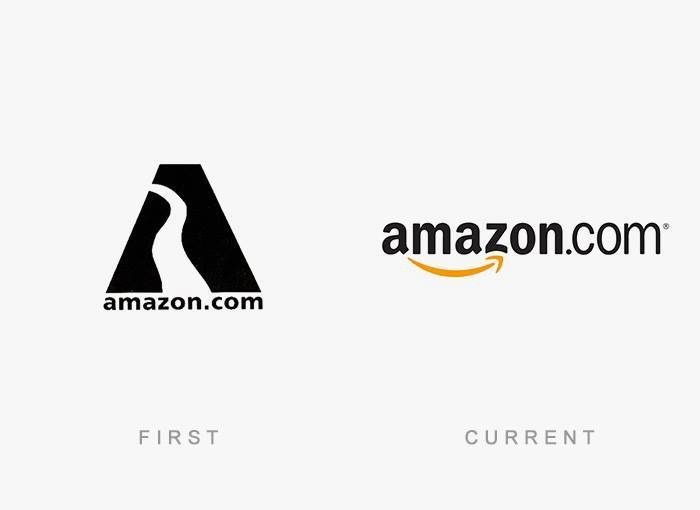 brand logos with theri first and final design (7)