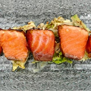 Sous Vide Miso Salmon.