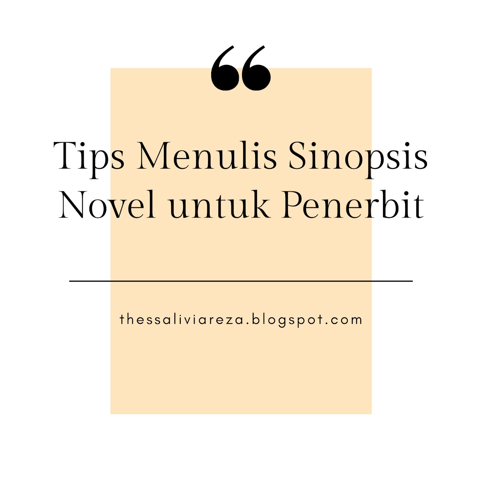 sinopsis novel untuk penerbit